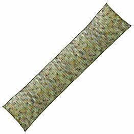 Naamiointiverkko säilytyslaukulla, 1.5x10m, vihreä