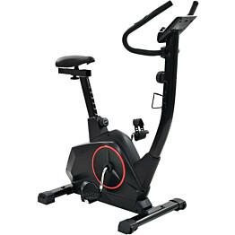 Kuntopyörä, magneettinen, sykemittauksella, XL, musta