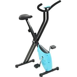 Kuntopyörä X-Bike, hihnavastuksella, sininen