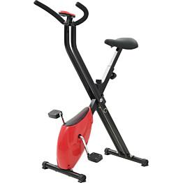 Kuntopyörä X-Bike, hihnavastuksella, punainen