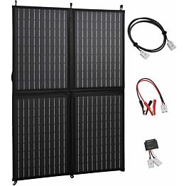 Kokoontaitettava aurinkopaneelilaturi, 100 W, 12 V