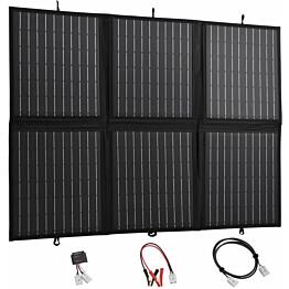 Kokoontaitettava aurinkopaneelilaturi, 120 W, 12 V