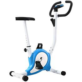 Kuntopyörä, hihnavastuksella, sininen