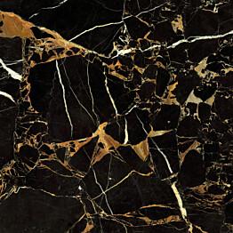 Lattialaatta GoldenTile Saint-Laurent 60.7x60.7 cm musta
