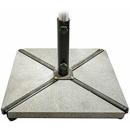 Aurinkovarjon painot, 4 kpl, 58kg, betoni