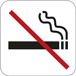 Tupakointi kielletty -kyltti Habo 80x80mm