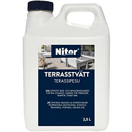 Terassin pesuaine Nitor 2.5l tiiviste