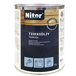 Tiikkiöljy Nitor 1L