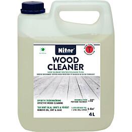 Terassipesu Nitor Wood Cleaner vaihe 1 4L