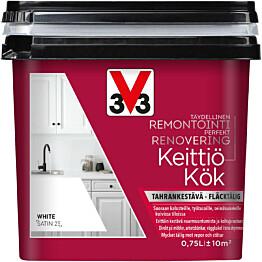 Remontointimaali keittiöön V33 750ml eri värivaihtoehtoja