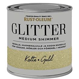 Glittermaali Rust-Oleum Medium Shimmer 250ml eri värivaihtoehtoja