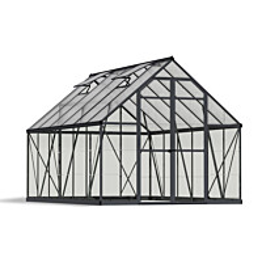 Kasvihuone Palram-Canopia Balance Hybrid 8,9 m² 8x12 harmaa
