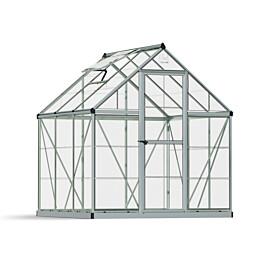Kasvihuone Palram-Canopia Harmony 3,4 m² 6x6 hopea