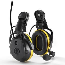 Kuulosuojaimet Hellberg Secure 2 Synergy kypärään BT/radio/mikrofoni