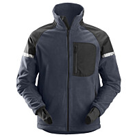 Fleecetakki Snickers Workwear AllroundWork 8005 navy