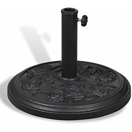 Hartsista valmistettu pyöreä aurinkovarjon jalusta_1