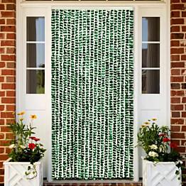 Hyönteisverho vihreä ja valkoinen 56x185 cm chenille_1