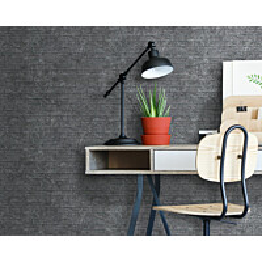 Sisustuslevy Innovera Décor Interlocking Ledge Stone Dark Urban Cement 8x610x610 mm PVC harmaa