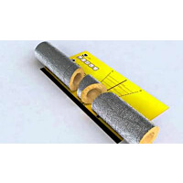 Kanavaeriste Isover CCTube ALU1-125-50 50x125x1200