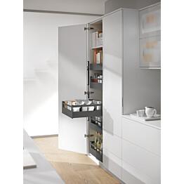Sisälaatikko Ideal Keittiöt hidasteilla korkea eri kokoja harmaa
