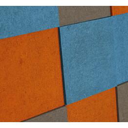 Akustiikkalevy Konto Torro 1782x1188mm sininen/harmaa/oranssi