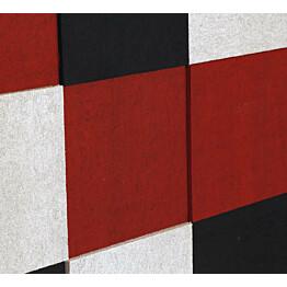Akustiikkalevy Konto Torro 1782x1188mm punainen/musta/valkoinen