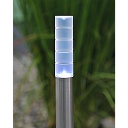 Aurinkokennovalaisinsetti Konstsmide Treviso LED 4-osainen kromi