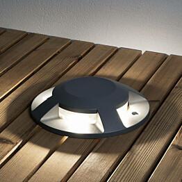 LED-maavalaisin Konstsmide 7878-370 Ø200 mm antrastiitti LED 12W