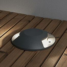 LED-maavalaisin Konstsmide 7879-370 Ø200 mm antrastiitti LED 10W