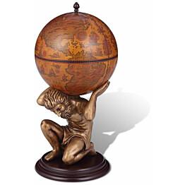 Karttapallobaari/viinikaappi atlas 42x42x85 cm_1