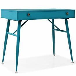 Kirjoituspöytä vetolaatikolla 90x50x76,5cm antiikkinen_1