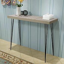 Konsolipöytä 90x30x71,5 cm harmaa_1