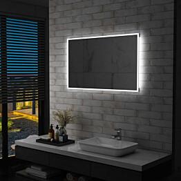 Kylpyhuoneen led-seinäpeili 100x60 cm_1