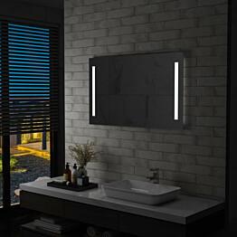 Kylpyhuoneen led-seinäpeili 100x60cm_1