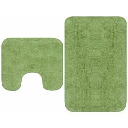 Kylpyhuoneen mattosarja 2 osaa vihreä_1