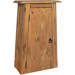 Kylpyhuoneen seinäkaappi kierrätetty mänty 42x23x70 cm_1