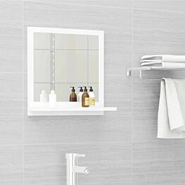 Kylpyhuonepeili valkoinen 40x10,5x37 cm lastulevy_1