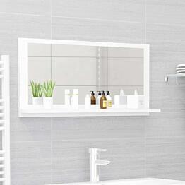 Kylpyhuonepeili valkoinen 80x10,5x37 cm lastulevy_1