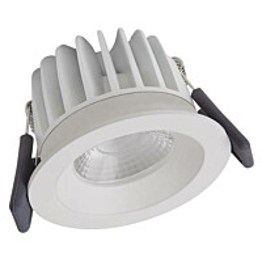 LED-alasvalo Ledvance Spot Fix 4000K IP44 valkoinen