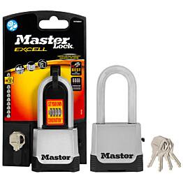 Riippulukko MasterLock 56x51 mm numeroyhdistelmä