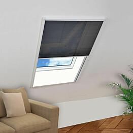 Laskostettu hyönteisverkko ikkunaan 100x160 cm alumiini_1