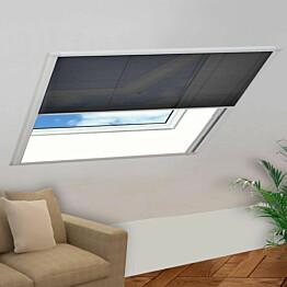 Laskostettu hyönteisverkko ikkunaan 130x100 cm alumiini_1