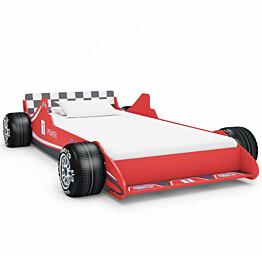 Lastensänky kilpa-auto 90x200 cm punainen_1