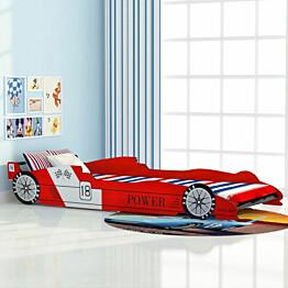 Lastensänky kilpa-auto 90x200cm punainen_1