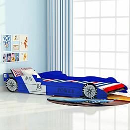 Lastensänky kilpa-auto 90x200cm sininen_1