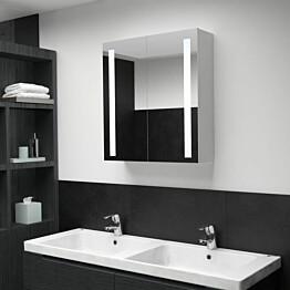 Led kylpyhuoneen peilikaappi 62x14x60 cm_1