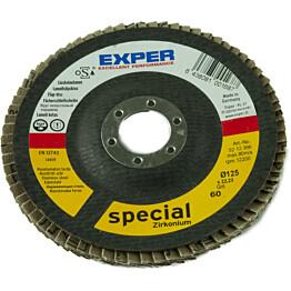 Liuskelaikka Exper Ø125 mm P60