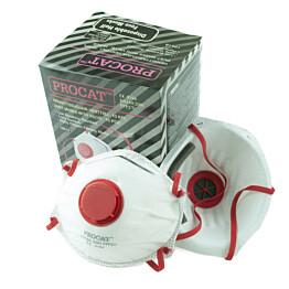 Hengityssuojain Procat FFP2 venttiilillä 10 kpl/pkt