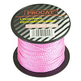 Linjalanka Procat Ø1,7 mm pinkki 50 m/rll