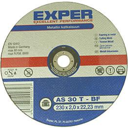 Katkaisulaikka Exper Ø230 mm 2,0 mmmetallille